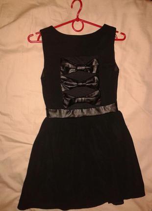 Черное платье tally weijl