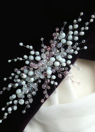 Свадебная веточка,праздничное украшение