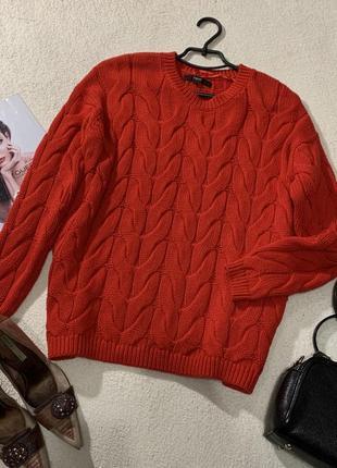 Стильный свитерок овэрсайз,размер s