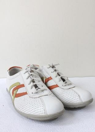 Кожаные туфли кроссовки hotter