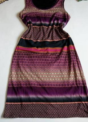 Платье миди 50 52  размер sale бюстье футляр офисное в полоску