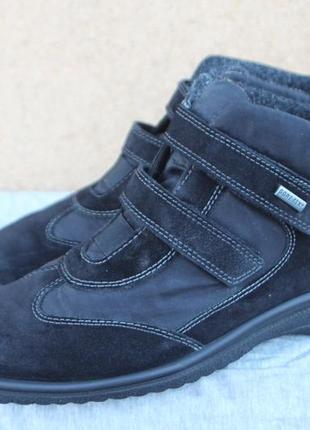 Зимние ботинки ara gore-tex германия непромокаемые 39р