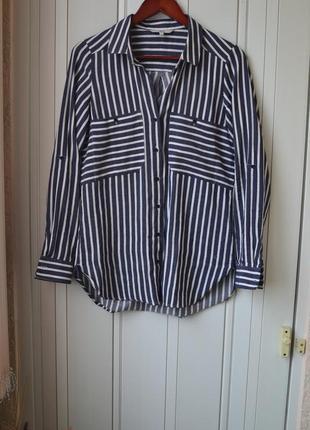 Рубашка в полоску блуза в полоску рубашка в полсочку