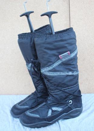 Зимние ботинки ecco gore-tex дания 39р сапоги дутики