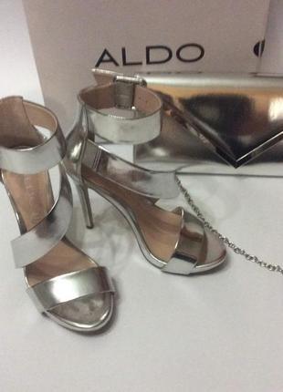 Aldo сет туфли+клатч