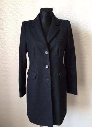 Отличное классическое пальто (шерсть, кашемир) от hallhuber, размер нем 38, укр 44-46