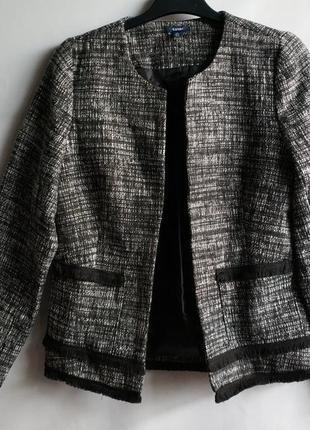 Брендовый пиджак жакет французского бренда kiabi, s, оригинал сток европа