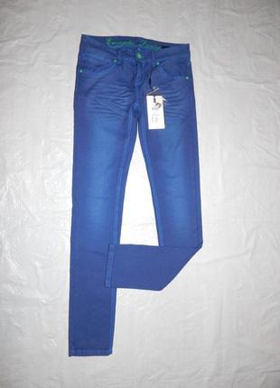 W26 l32, поб 42-44, узкачи джинсы скинни outfiters nation