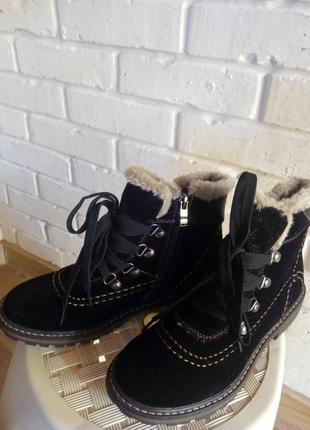 Классные теплые ботиночки inblu