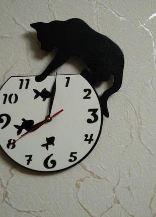 Настенные часы с бесшумным механизмом