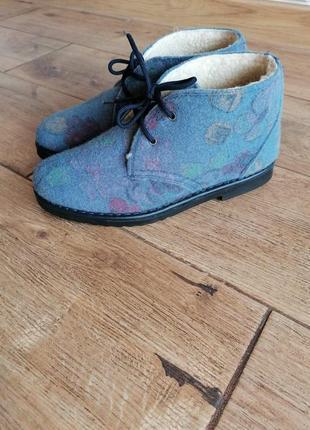 Теплые зимние ботинки inblu.