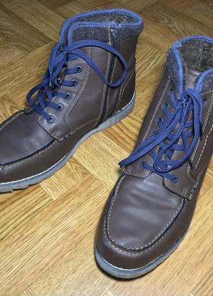 Ботинки осенние зимние woodstone 44