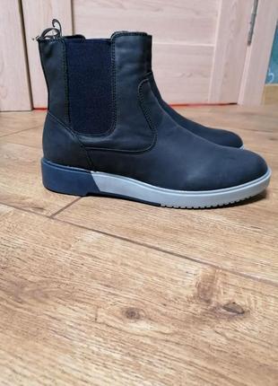 Стильные ботинки челси austin reed. кожа.