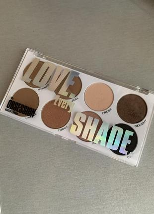 Тіні тени makeup obsession love every shade