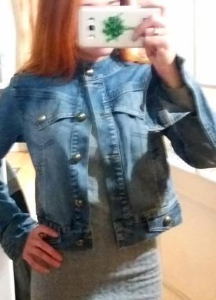 Джинсовая куртка7 фото