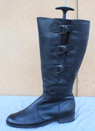 Сапоги gabor кожа германия 39р ботинки