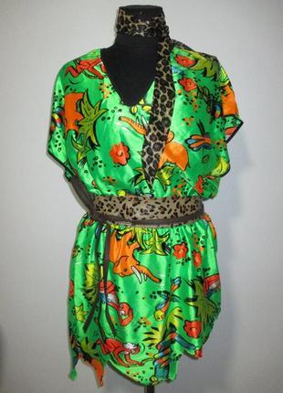 Папуас дикарь тропики костюм 44-50 гавайский