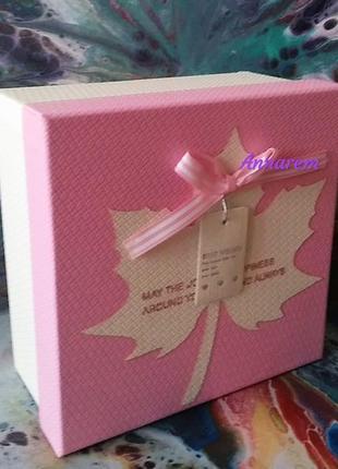Дарите подарки красиво! подарочная коробка