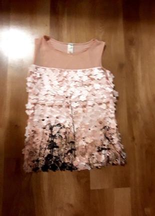 Летняя оригинальная блузка