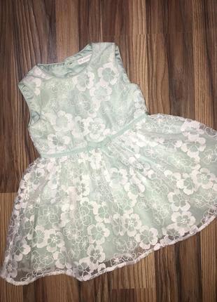 Красивое пышное платье john rocha 12-18