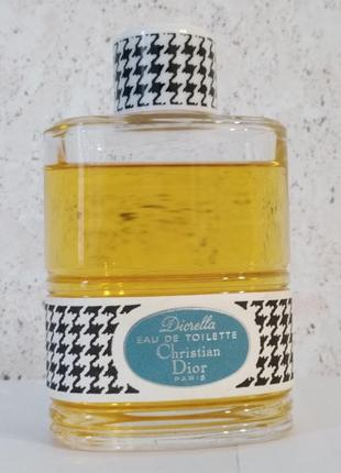 Diorella от christian dior, туалетная вода, винтаж, 99/112 мл.