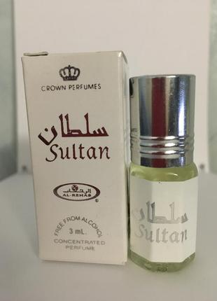 Арабские масляные духи sultan султан
