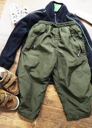 Стильные спортивные штаны из плащевки
