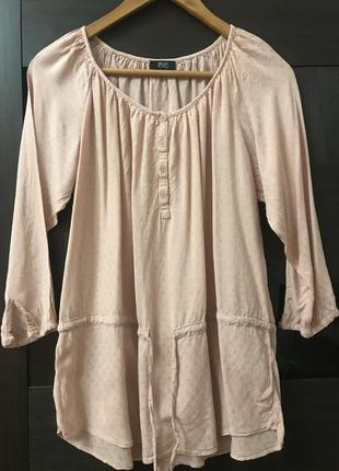 Блуза f&f р. 12 цвет - персиковый #21.  1+1=3🎁