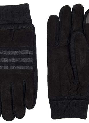 Кожаные перчатки levis размер хl