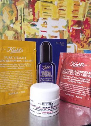 Набор для всех типов кожи для восстановления эластичности кожи лица и вокруг глаз kiehls