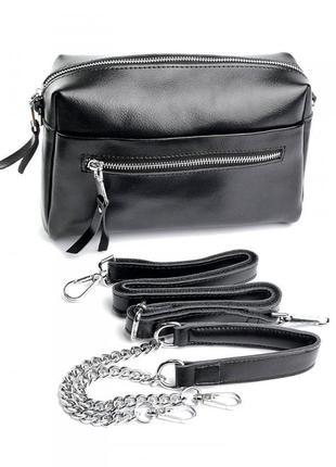 Женская кожаная сумка из натуральной кожи шкіряна жіноча кожаный клатч женский