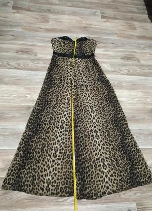 Леопардовий комбинезон шифоновий