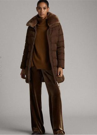 Пуховик 🧥 куртка massimo dutti s