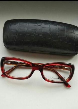 Фирменная черепаховая стильная оправа под линзы,очки g.ferre gf018 03 оригинал италия