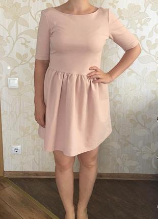 Платье zara, плаття. красива базова сукня, приємного кольору, виглядає дуже дорого.