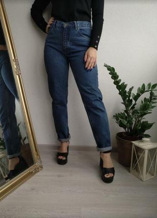 Джинсы мом с высокой посадкой north jeans бойфренды новые