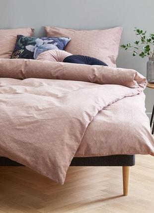 Комплект белья 240х260 см. нежно розовое белье. комплект постельного белья.