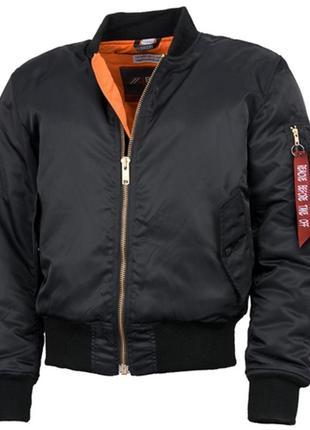 Куртка бомбер  bad bomber black   бренд : 4bikers