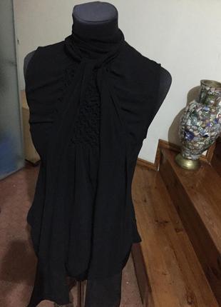 Необычный шифоновый крутой топ блуза,