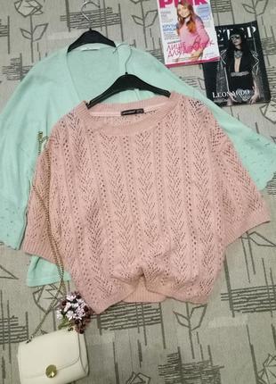 Красивый ажурный свитерок, atmosphere, размер 12-14