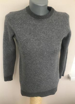 Шерстяной кашемировый свитер/ джемпер/ кофта collezione