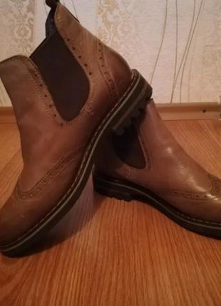 Офигенные ботинки-броги! 41 размер.