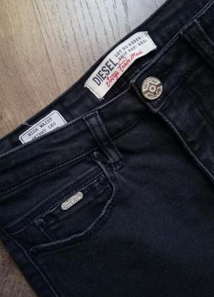 Diesel фирменные джинсы скинни размер с-м 26-28