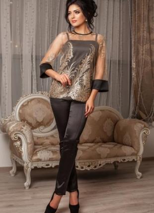 Супер нарядний костюм трійка medini