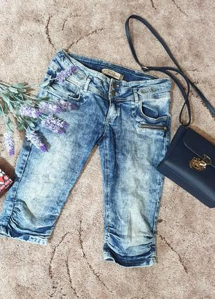 Шорты, бриджи, капри джинсовые