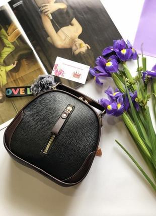 Женская сумочка через плечо с длинным ремешком, женская маленькая сумка, сумка круглая
