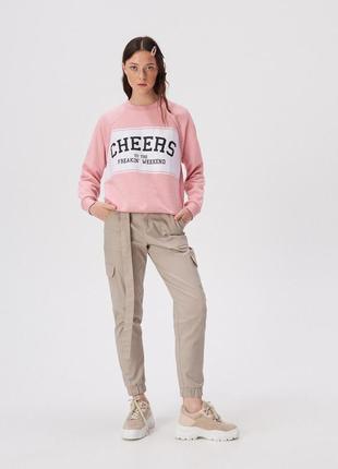 Спортивный свитшот oversize cheers + расцветки