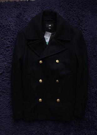 Зимнее пальто h&m