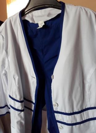 Медичний костюм:штани і халат.в відмінному стані,одягала 2 раза.44 розмір.