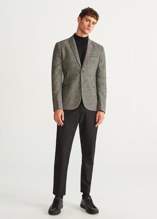 Reserved - мужской пиджак с шерстью